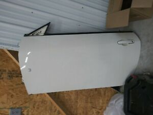 06-09 Pontiac G6 2 Door COUPE Driver Side LH Door Shell  - White