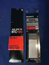 SONY NTC-120 MICRO CASSETTE TAPE NTC120 Digital Recording FREE SHIP US SELLER