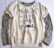 "Next Fille 12 ans ""ce que j'aime"" d' avoine Mill Sweater Pull Bnwt"