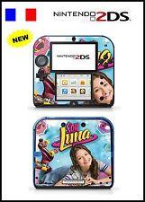 SOY LUNA -  Piel De Vinilo Adhesivo Para Nintendo 2DS - Réf 149