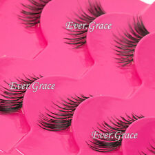 New Makeup False Eyelashes Set 5 Pairs Half Winged Corner Eye Lashes Mini Accent