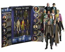 "DOCTOR WHO 11 Doctors 5"" Action Figure Box Set NIB"