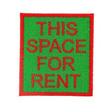 Patch toppe toppa ricamate termoadesiva vintage biker this space is for rent