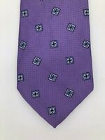 Men's Jos.A.Bank Executive Collection Purple 100% Silk Tie