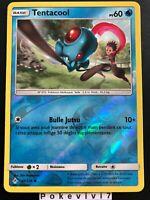 Carte Pokemon TENTACOOL 40/214 REVERSE Soleil et Lune 10 SL10 FR NEUF