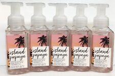 5 Bath & Body Works Island Papaya Gentle Foaming Hand Soap Wash