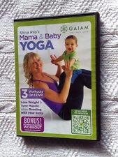 SHIVA REA'S MAMA AND BABY YOGA (DVD) R- ALL, LIKE NEW, FREE POST IN AUSTRALIA