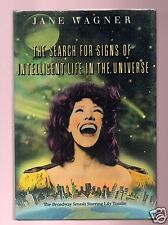 THE SEARCH FOR SIGNS- PLAYWRIGHT-JANE WAGNER SIGNED HB- VERY GOOD CONDITION