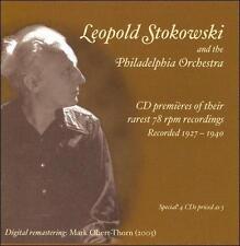 Stokowski & the Philadelphia Orchestra - CD Premieres of Their Rarest 78 RPM Rec
