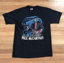 PAUL MCCARTNEY T-Shirt 2011 CHICAGO CONCERT On The Run Black Medium Med Wrigley