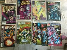 SILVER SURFER 1988 1 2 GALACTUS THE ORIGIN 1 THANOS COSMIC POWERS UNLIMITED MORE