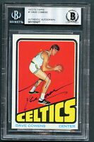 Dave Cowens #7 signed autograph auto 1972-73 Topps Basketball Card BAS Slabbed