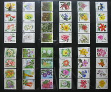 Thailand Stamp Completed Set of New Years Flowers (22)