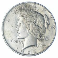 New listing Early - 1926-D-Peace Silver Dollar - 90% US Coin *841