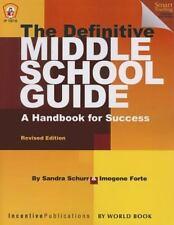 The Definitive Middle School Guide, Schurr, Sandra, New Books