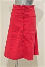 luxueuse jupe boutonnée coton rose SONIA RYKIEL taille 38/40 fr 42i taille haute
