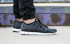 NIKE FREE FLYKNIT NSW 'OREO' Running Trainers Shoes Casual - UK 9 (EUR 44)  RARE