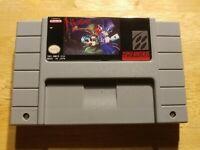 Nightmare Busters Super Nintendo SNES. Please Read Description