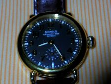 Shinola Runwell Brown face Watch Wristwatch 41mm men women unisex