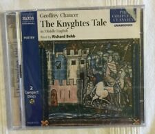 Chaucer - The Knyghtes Tale (New Naxos CD audiobook boxset still in shrinkwrap)