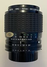 SIGMA for NIKON 35-70mm ZOOM-MASTER LENS f/2.8-4.0 w/ Hood & Filter