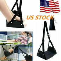 1/3 pcs Portable Foot Rest Relax Travel Hammock Carry Flight Leg Airplane Pad