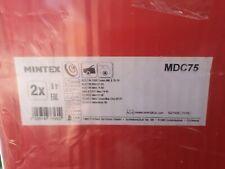 MINTEX FRONT SOLID BRAKE DISCS SET PAIR - MDC75