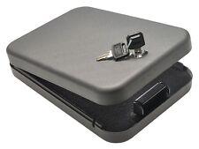 Hand Gun Safe Storage Key Lock Box Large Pistol TSA Travel Jewelry Case Security