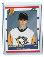 1990-91 SCORE #428 JAROMIR JAGR RC PENGUINS ROOKIE
