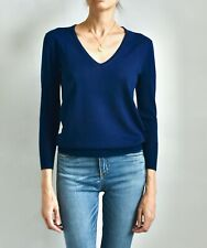 JCREW 100% Merino Wool V Neck Thin Knit Sweater