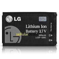 Brand New OEM LG LGIP-430G Battery for Shine CU720 CF360 AT&T KS500 KF757