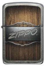 Zippo Metal on Wood Replica 1941 Chrome brushed 60004663 Spring Collection 2020