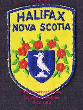 LMH PATCH Badge  HALIFAX Regional Municipality HRM  NOVA SCOTIA Canada  Crest