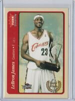 2004 fleer tradition #210 lebron james basketball card award winner $$ Hot $$