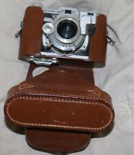 Vintage 1949 Kodak 35mm Rangefinder Camera And Leather Case