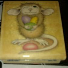 House mouse, mud pie holds jelly beans,colorful, stampabilities,C57,rubber, wood