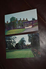 2 x OLD POSTCARDS WHITE FRIARS HOTEL, HERSTMONCEUX 1980s