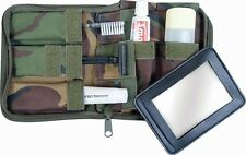 WEB-TEX BRITISH ARMY STYLE WOODLAND DPM CAMO WASH KIT,TOOTHBRUSH,CAMOUFLAGE,UK