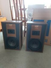 KEF Coda III  HiFi Bookshelf / Stand Mount Speakers - 50W - Black excellent box