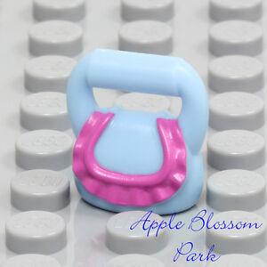 NEW Lego Female Minifig BLUE PURSE - Girl Friends Minifigure Hand Bag Basket