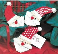 Plastic Canvas - 4 Christmas Patterns! See Photos! New