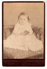 cabinet photo of cute baby girl picture dog child Norwich, Ont. Canada no Id