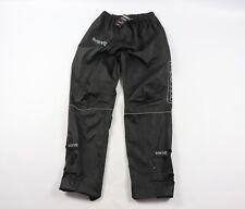 New Proviz Mens Small Reflective Cycling Bicycle Waterproof Trousers Pants Black