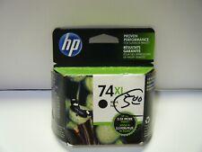 Genuine HP 74XL Black Printer Ink Cartridge Exp. July 2016 - NEW