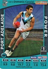 TEAMCOACH 2012 CAPTAIN WILDCARD DOMENIC CASSISI PORT ADELAIDE *RARE*