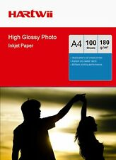 100 Sheets A4 High Glossy Photo Paper 180Gsm Inkjet Paper Printing 210x297mm AU