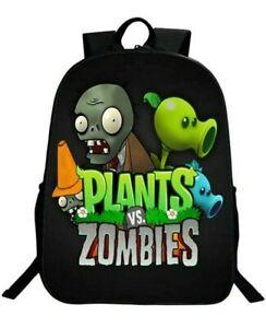 Plants Vs Zombies Backpack Children's Backpack, Unisex Pupils Cartoon, Brand New