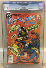DETECTIVE COMICS #573 CGC 9.6 INCLUDES MAD HATTER APPEARANCE MADDER COPPER AGE