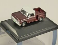 1965 CHEVROLET STEPSIDE PICKUP in Maroon 1/87 scale model OXFORD DIECAST