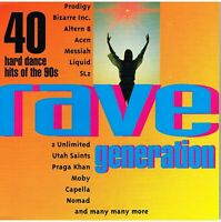 Rave Generation by Various Artists (CD, 2 Discs)